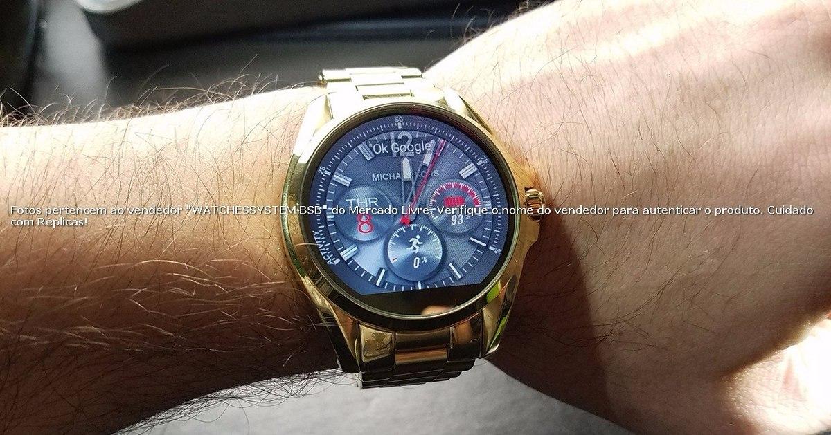 michael kors digital smartwatch access dourado no brasil. Carregando zoom. 3a84e652fa