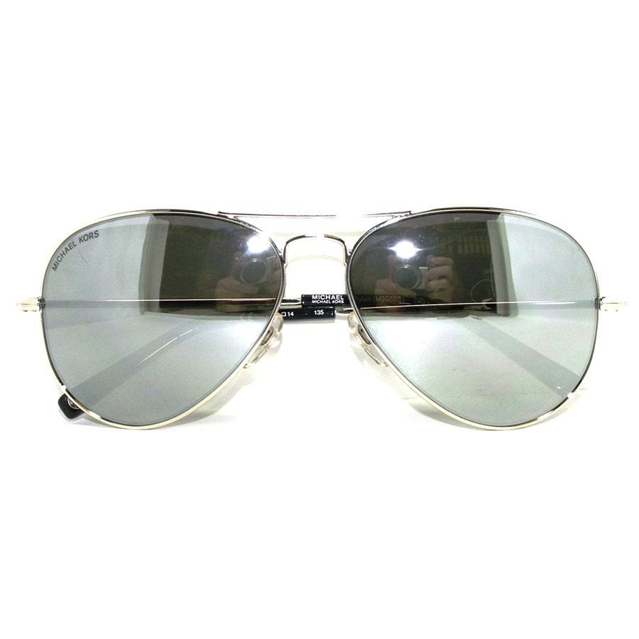 Cargando zoom... lentes de sol aviador michael kors m2066s! nuevo! original! ca936e4036