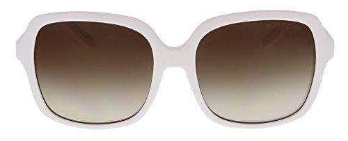 657c856a9d1 Michael Kors Mk6033 Astrid Ii 306413 White Square Sunglasses ...