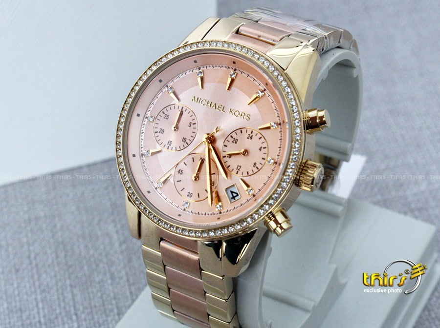 michael kors mk6475 ritz original lindissimo 37mm thirs. Carregando zoom. 4294e41440
