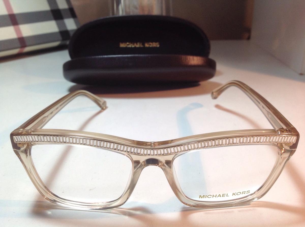 67919bc8d0936 michael kors óculos de grau dourado com cristais armação. Carregando zoom.
