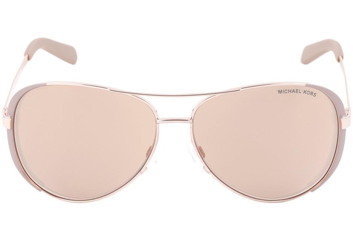 Michael Kors Chelsea Mk 5004 - Óculos De Sol 1017r1 Dourado - R  409 ... 4f56f08d76