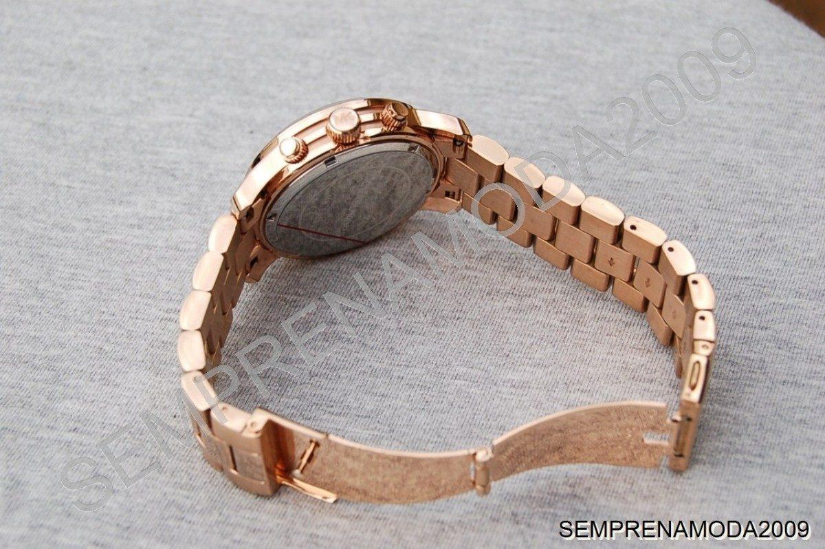 Relógio Michael Kors Mk5128 Rose Lindo Com Caixa E Manual. - R  476 ... b9e7ff9e1e