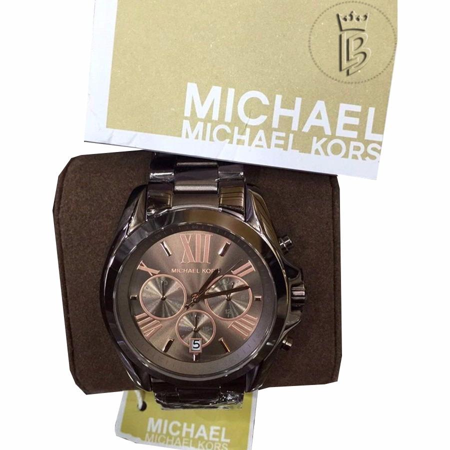 Relógio Michael Kors Mk5628 Chocolate 100%original - R  761,00 em ... 3b8e52a9d8