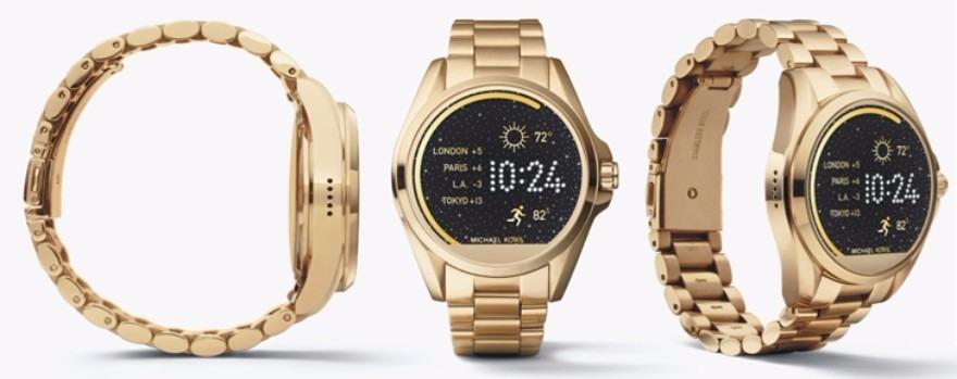 5a2a5c34b5637 Relogio Michael Kors Mkt5001 Access Smartwatch Dourado - R  1.890,00 ...