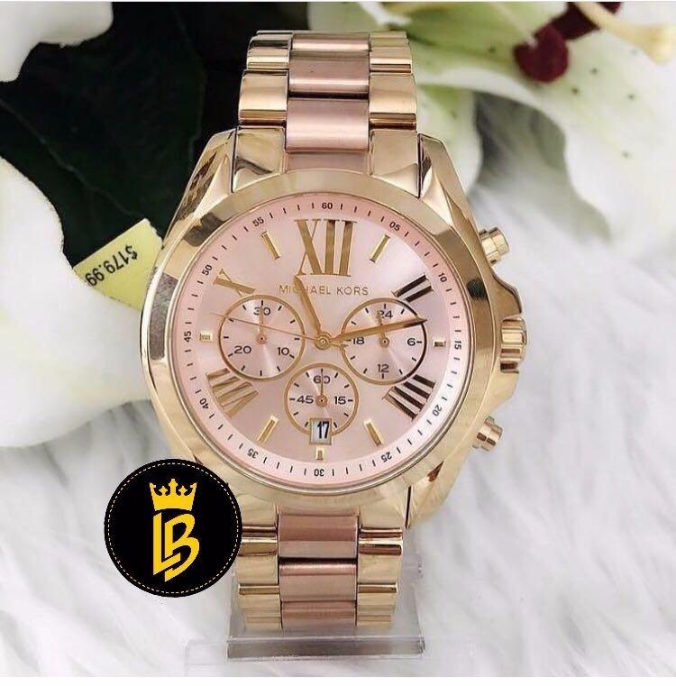 relógio michael kors mk6359 lançamento romano rosa · relógio michael kors · michael  kors relógio d4b5e921b2