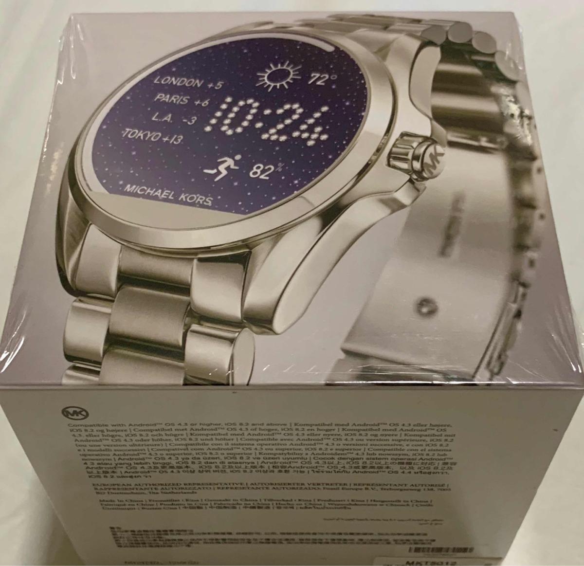 72a2aca7c6423 Relogio Michael Kors Mkt5012 Access Touch Digital Prata - R  1.599 ...