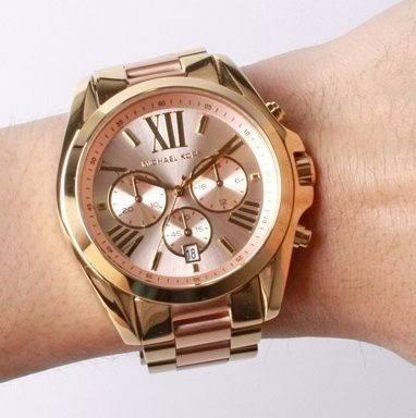 703a641032179 relógio michael kors mk6359 original rose dourado garantia · relógio  michael kors · michael kors relógio