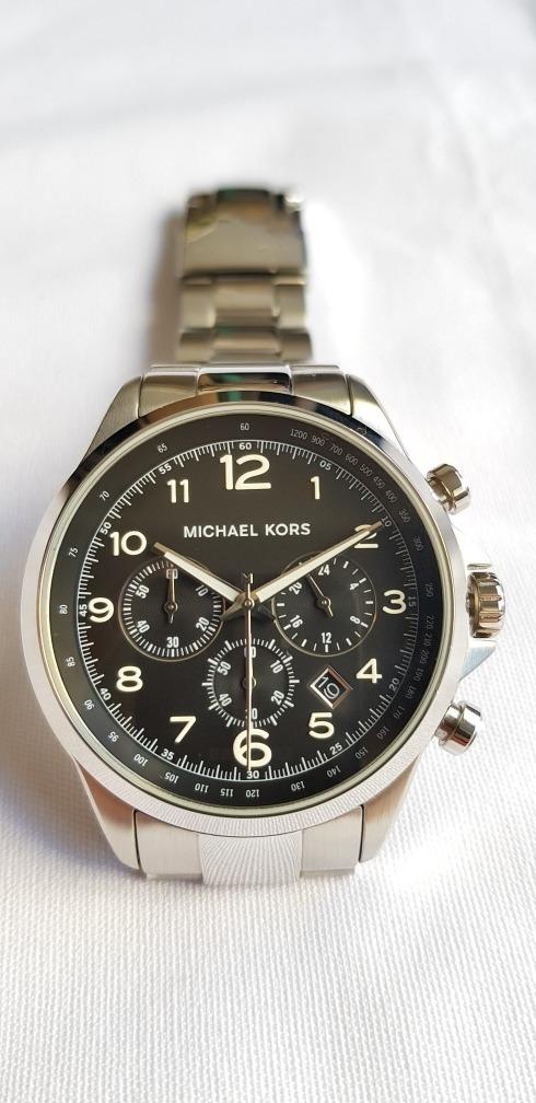 36aed399fae Carregando zoom... relógio barato michael kors mk8113 original 45mm eua