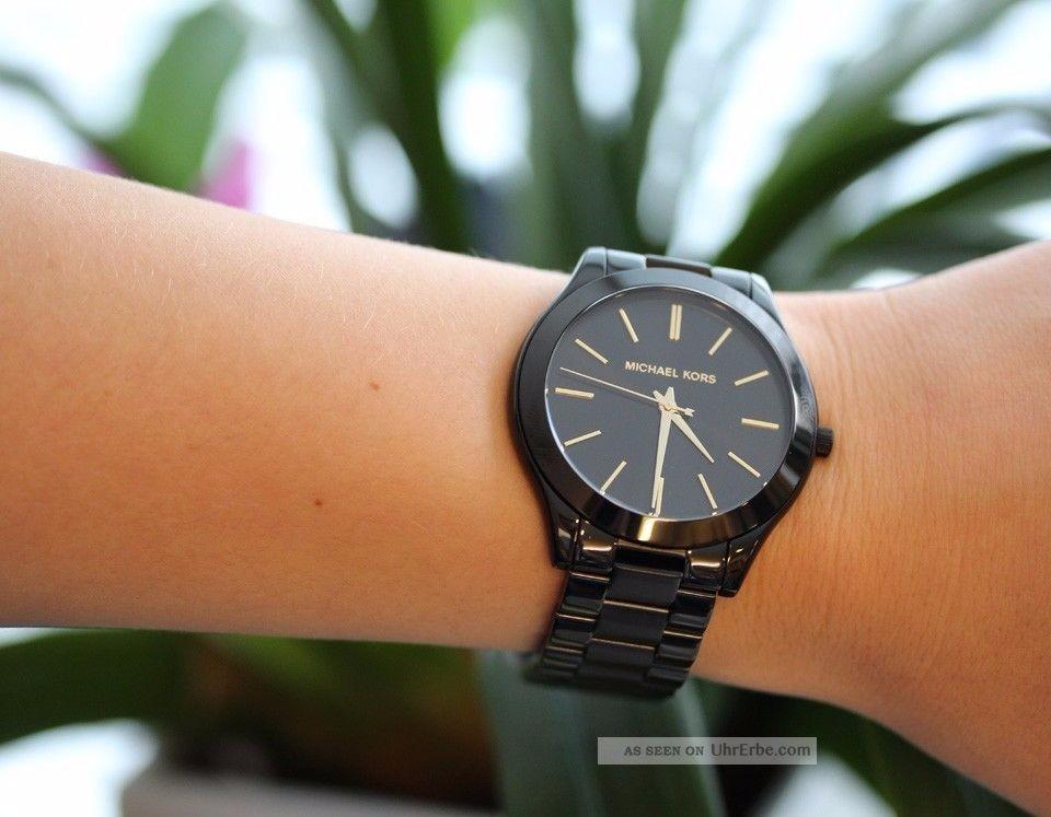 Relógio Michael Kors Mk3221 Preto Original- Promocional - R  251,29 ... f3a00adead