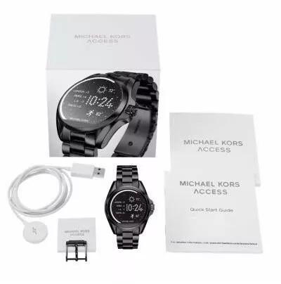 0e57c86e9f49b Relogio Michael Kors Mkt5005 Preto Touch Access C nota - R  2.199,00 ...