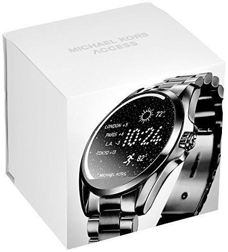 ddbd8b9c29622 smartwatch michael kors preto aço mkt5005 mk access relogio · michael kors  relogio