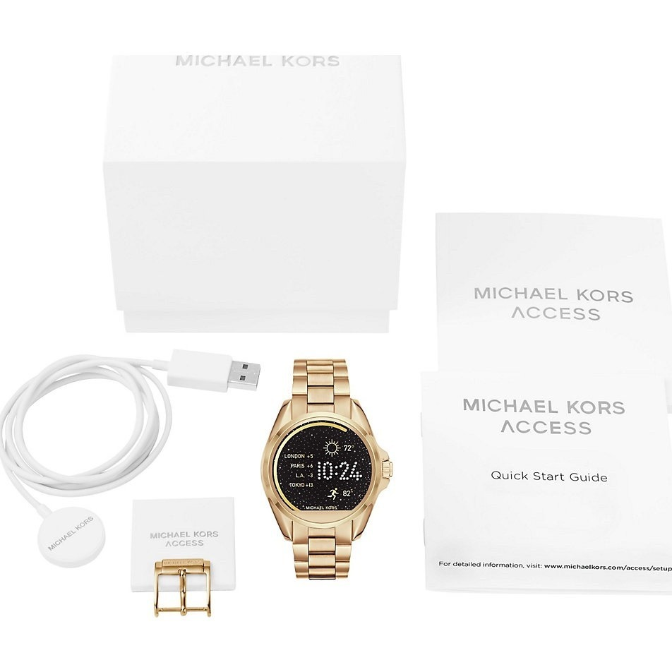 414bf73b5d75b Carregando zoom... relogio michael kors mkt5002 access smartwatch swarovski