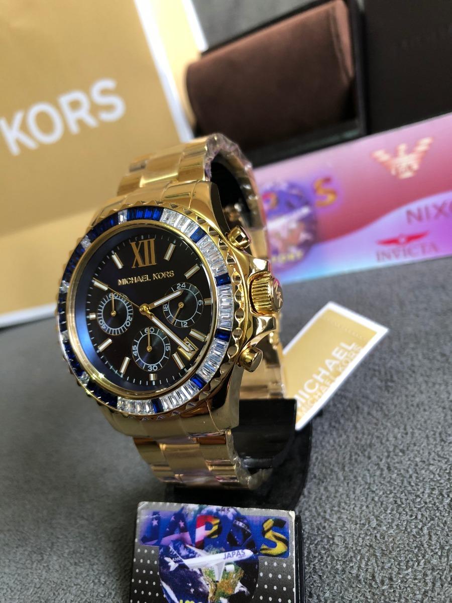 421aa8d8eb839 Relogio Michael Kors Mk5754 Gold 100% Original 12x S  Juros - R  499 ...