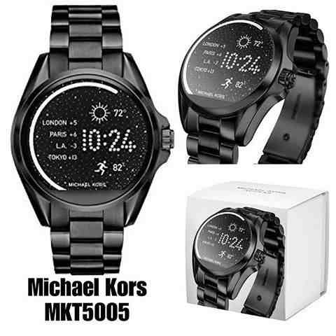 247aa41df6b4f Relogio Michael Kors Mkt5005 Preto Touch Access C nota - R  2.308,95 em  Mercado Livre
