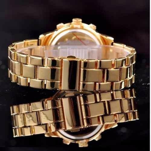 459eb91ea1360 michael kors relógio feminino · relógio feminino dourado estilo michael  kors lindo!