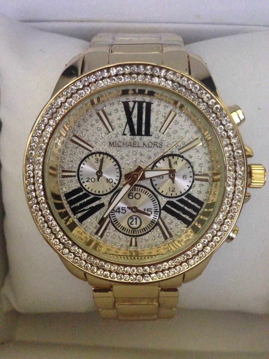 fce30d82730 Michael Kors - Relógio Estilo Michael Kors Dourado Mk6095 - R  84
