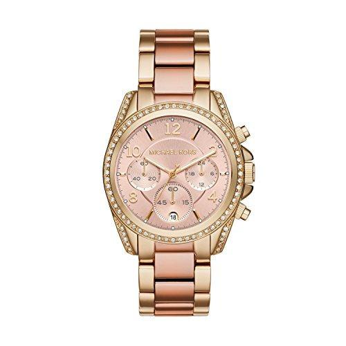 michael kors reloj de dos tonos blair para mujer mk6316