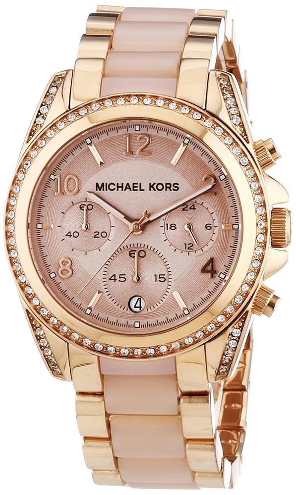 Reloj Mujer Michael Kors Mk5943 Cronógrafo Oro Rosa Cuotas ... e148eb9856a6
