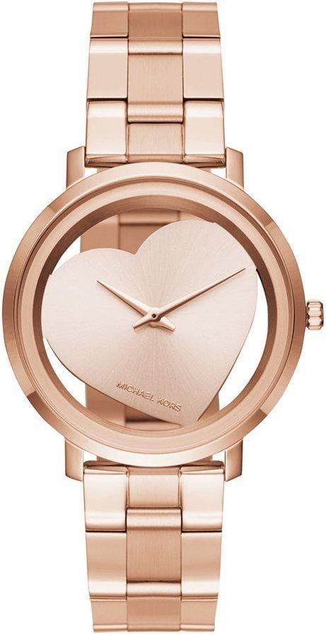 Reloj Mujer Michael Kors Mk3622 Jaryn Dial En Corazón Rosa ... 310d8e549482