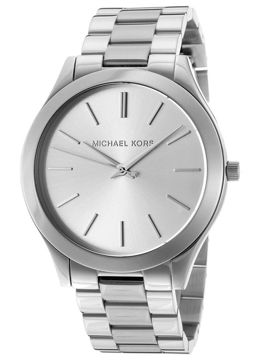 Michael kors relojes mujer plateado