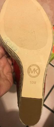 michael kors talla 27 mexicano rojos nuevos sin caja