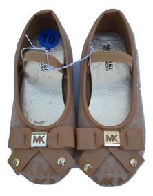 fc6229b6d Michael Kors Zapatos Niña Café 100% Original