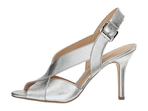 michael michael kors becky sandal dama plata