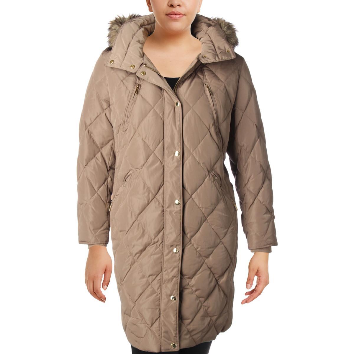 98297f6d3f9 michael michael kors para mujer invierno abajo chaqueta. Cargando zoom.