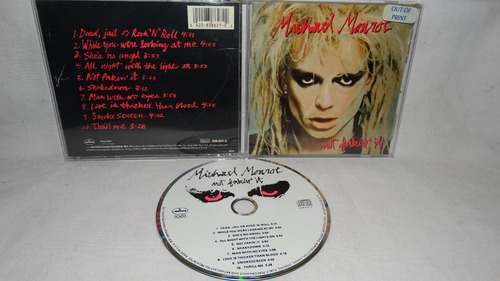 michael monroe - not fakin` it (hanoi rocks polygram)
