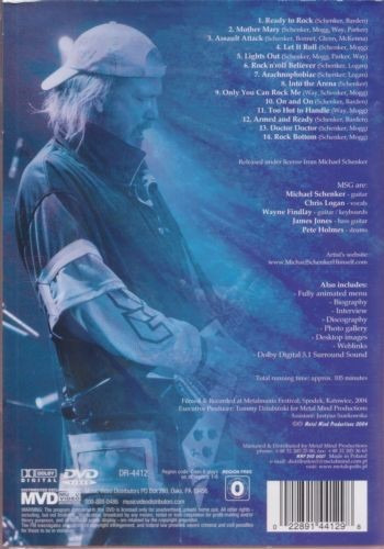 michael schenker group: world wide live 2004 dvd