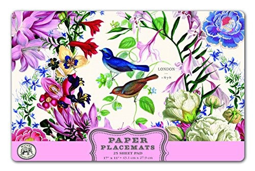 michel design works 25 contador de manteles de papel romanc