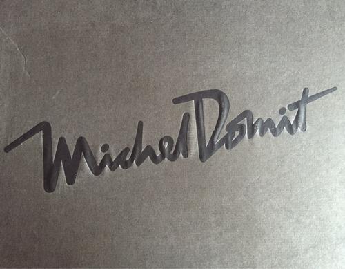 michel domit  hermosas sandalias wedge  23.5