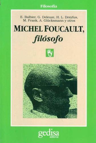michel foucault filósofo / aa vv (envíos)