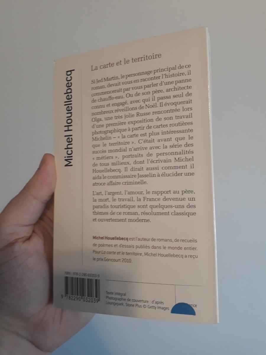 Michel Houellebecq La Carte Et Le Territoire