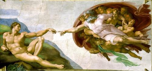 michelangelo gravura hd arte 50cmx110cm enfeite para sala