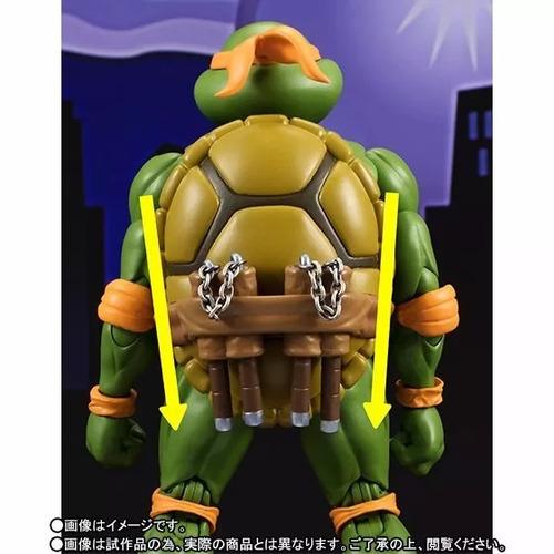michelangelo - s.h. figuarts - tartarugas ninja - bandai