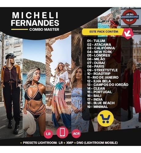 micheli fernandes - combo master presets: coleção completa