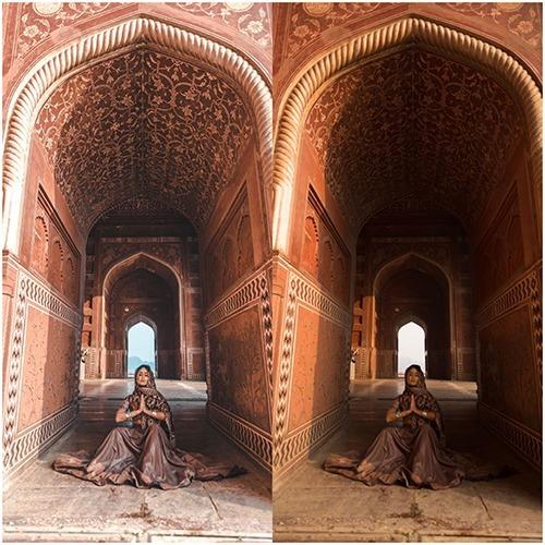 micheli fernandes - índia presets: lightroom + acr + mobile