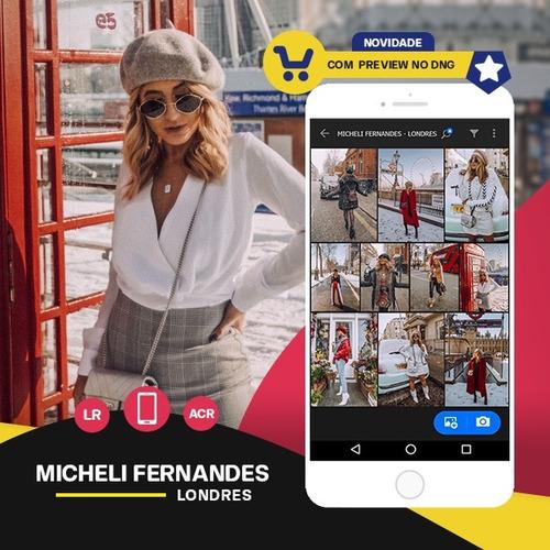 micheli fernandes - londres presets: lr + ps + mobile