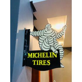 Michelin Tires Placa De Porcelana