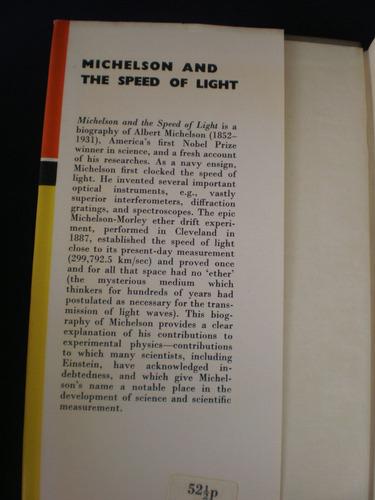 michelson and the speed of light - bernard jaffe