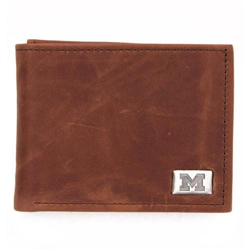 michigan bi-fold wallet