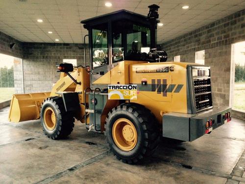 michigan nueva r50c fase 2. balde 1 mt3, motor hanomag 80hp
