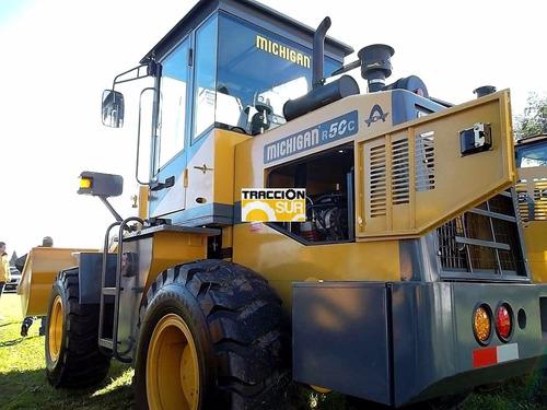 michigan r50c fase 2. 80hp / 1 mt3 hanomag nueva garantía.