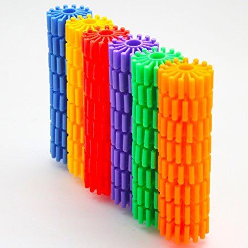 michley bloques de rodillos coloridos que se enclavija que j