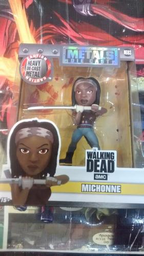 michonne the walking dead metals die cast - en stock