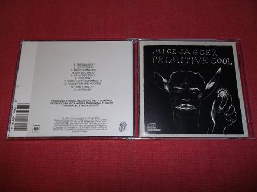 mick jagger - primitive cool cd usa ed 1990 mdisk