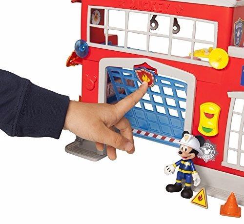 mickey aventura sobre ruedas estacion de bomberos station