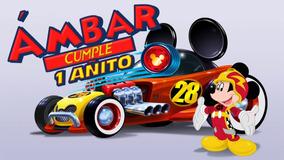 Mickey Aventuras Sobre Ruedas Vídeo De Invitación Whatsapp
